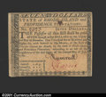 Colonial Notes:Rhode Island, Rhode Island July 2, 1780 $7 Choice New. Fully signed on bo...
