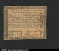 Colonial Notes:Rhode Island, Rhode Island July 2, 1780 $8 Very Choice New. A really nice...