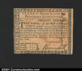 Colonial Notes:Rhode Island, Rhode Island July 2, 1780 $20 Very Choice New. Fully signed...