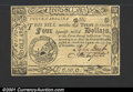 Colonial Notes:South Carolina, South Carolina December 23, 1776 $4 Choice About New. A sin...