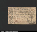 Colonial Notes:South Carolina, South Carolina April 10, 1778 10s About New. Previously Lot...