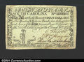 Colonial Notes:South Carolina, South Carolina February 8, 1779 $90 Extremely Fine. Very we...