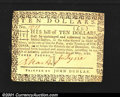 Colonial Notes:Virginia, Virginia May 7, 1781 $10 Very Choice New. An absolute Gem i...