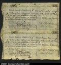 Colonial Notes:Virginia, Continental Loan Office Bill of Exchange November 1, 1779 Ext...