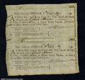 Colonial Notes:Virginia, Maryland Continental Loan Office U.S. 95 Third and Fourth of ...