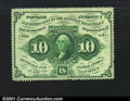 Fractional Currency:First Issue, Fr. 1240 10¢ First Issue Very Choice New. Well centered, wi...