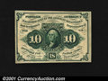 Fractional Currency:First Issue, Fr. 1242 10c First Issue Gem New. The face margins could be...