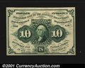 Fractional Currency:First Issue, Fr. 1243 10c First Issue Very Choice New. A very nice examp...