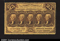 Fractional Currency:First Issue, Fr. 1279 25c First Issue Very Choice New. Fully perforated,...
