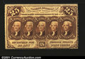 Fractional Currency:First Issue, Fr. 1280 25c First Issue Very Choice New. Strictly original...