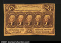 Fractional Currency:First Issue, Fr. 1282 25c First Issue Extremely Fine. A nice lightly cir...