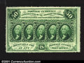 Fractional Currency:First Issue, Fr. 1310 50c First Issue Superb Gem New. A spectacular, ful...