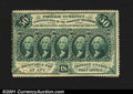 Fractional Currency:First Issue, Fr. 1310 50c First Issue Very Choice New. An unusually nice...