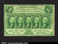 Fractional Currency:First Issue, Fr. 1311 50c First Issue Very Choice New. Deeply and fully ...