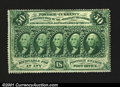 Fractional Currency:First Issue, Fr. 1311 50c First Issue Choice New. Fully perforated with ...