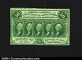 Fractional Currency:First Issue, Fr. 1311 50¢ First Issue About New. The bottom edge perfs a...