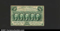 Fractional Currency:First Issue, Fr. 1311 50c First Issue Extremely Fine. A well-perforated ...