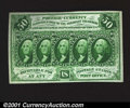 Fractional Currency:First Issue, Fr. 1313 50¢ First Issue Choice About New. This rare no-m...