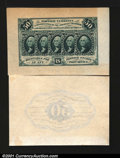 Fractional Currency:First Issue, Fr. 1313SP 50c First Issue Wide Margin Pair New. Fully wide...