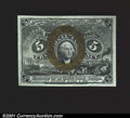 Fractional Currency:Second Issue, Fr. 1233 5c Second Issue Gem New. A lovely note with strong...