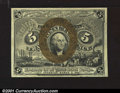 Fractional Currency:Second Issue, Fr. 1233 5c Second Issue Gem New. Well margined, with extre...