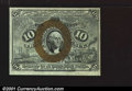 Fractional Currency:Second Issue, Fr. 1244 10c Second Issue Very Choice New. Well printed on ...