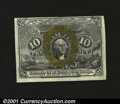 Fractional Currency:Second Issue, Fr. 1245 10c Second Issue New. The back is so far off cente...