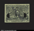 Fractional Currency:Second Issue, 10¢ Cent Second Issue Experimental Superb Gem New. An absol...