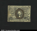 Fractional Currency:Second Issue, Fr. 1249 10c Second Issue Choice About New. This scarce Fib...