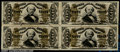 Fractional Currency:Third Issue, Fr. 1328 50¢ Third Issue Spinner Original Reconstructed Block...
