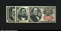 Fractional Currency:Fifth Issue, A Fifth Issue Type Set. Fr. 1266 10c, 1309 25c and 1381 50c...