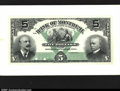 Canadian Currency: , Montreal- The Bank of Montreal $5 Jan. 2, 1904 Ch. 505-48-0...