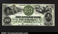 Canadian Currency: , Montreal- The Ontario Bank $20 Aug. 3, 1860 Ch. 555-12-02P ...