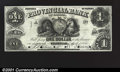 Canadian Currency: , Stanstead- Provincial Bank of Canada $1 April 1, 1856 Ch. 6...