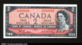 Canadian Currency: , BC-38b $2 1954 Gem Crisp Uncirculated. The mate to the low ...