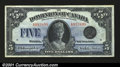 Canadian Currency: , DC-27 $5 1924This note, with its central vignette of Quee...
