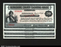 Miscellaneous:Depression Scrip, Berkshire County, MA- Berkshire County Clearing House $1, $...