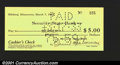Miscellaneous:Depression Scrip, Hibbing, MN- Security State Bank $5 March 7, 1933 Shafer UN...