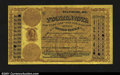 Miscellaneous:Postal Currency, Postal Note Type I Baltimore, MD Serial Number 5. Made paya...