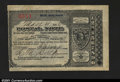 Miscellaneous:Postal Currency, Postal Note Type V Egan, SD. Issued on May 4, 1894 for 30c....