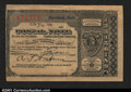 Miscellaneous:Postal Currency, Postal Note Type V Cleveland, OH. This note was issued on J...