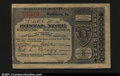Miscellaneous:Postal Currency, Postal Note Type V Washington, PA. Issued for 1c, this is t...