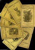 "Miscellaneous:Other, Ten Issues of ""Ayer's Almanacs"" Lot of Ten Issues of Ayer's A..."
