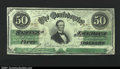 Confederate Notes:1862 Issues, T50 $50 1862. A solid Extremely Fine example that appea...
