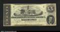 Confederate Notes:1862 Issues, T51 $10 1862. A well centered note with minor signs of hand...