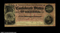 Confederate Notes:1864 Issues, T64 $500 1864. Pleasing Very Fine or slightly better, b...