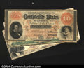 Confederate Notes:Group Lots, Four Notes from the Southern Confederacy.T8 $50 1861 VF...