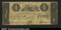 Obsoletes By State:Connecticut, Norwich, CT- Norwich Bank $4 Jan. 1, 1853 G200An exceptio...
