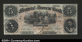 Obsoletes By State:Indiana, Petersburg, IN-Farmers' & Drovers' Bank $5 Oct. 4, 1858 G6a...