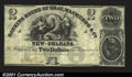 Obsoletes By State:Louisiana, New Orleans, LA- Gray, Macmurdo & Co. $2Unissued, but the...